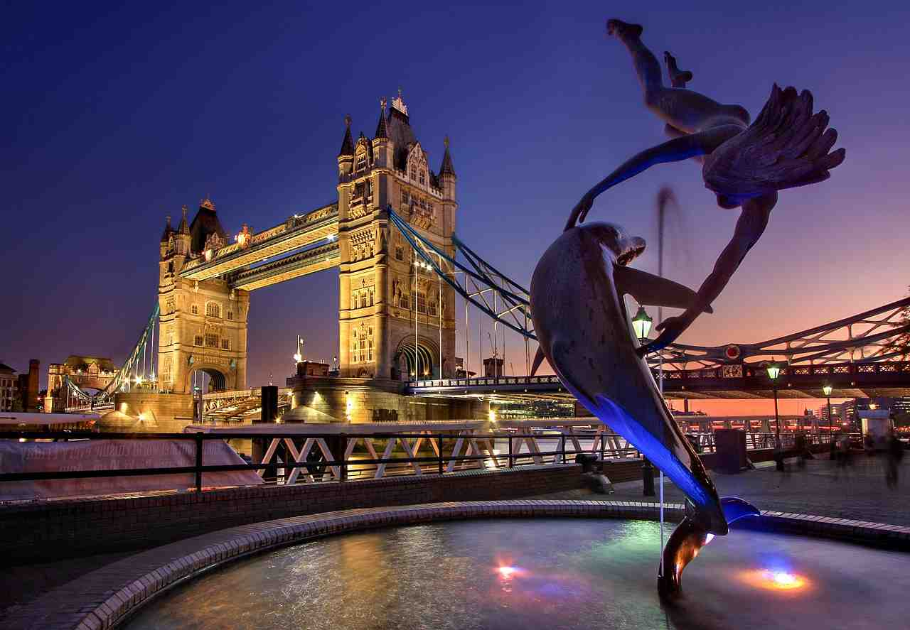 londres, tower bridge, angleterre